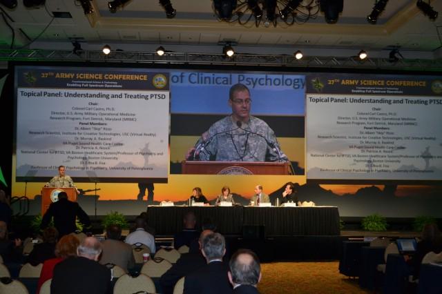 Army explores PTSD treatments