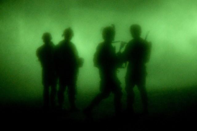 U.S. Soldiers, ANP raid bomb-making facilities