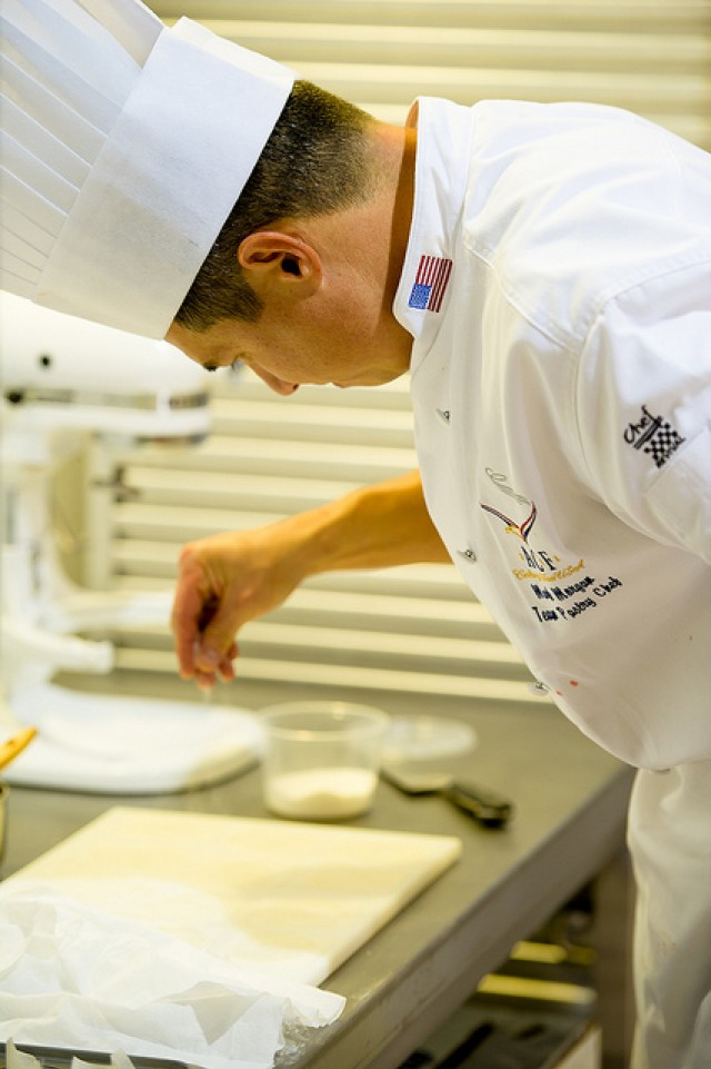 Master Sgt. Mark Morgan Pastry Chef