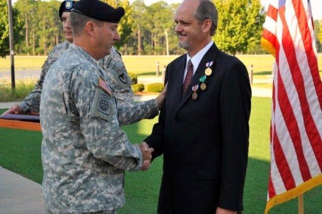 Fort Stewart LAR Receives Defense of Freedom Medal