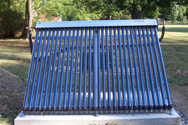 Henry House solar panel