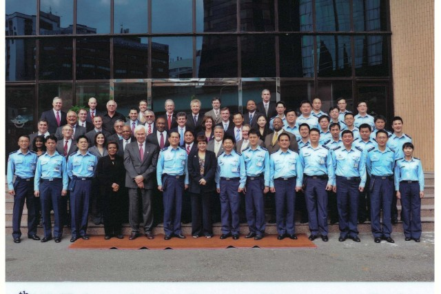 Attendees of the fourth Taiwan Patriot Program Management Review held in Taipei, Taiwan, Nov. 1-5.