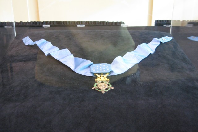 Medal of Honor on Display
