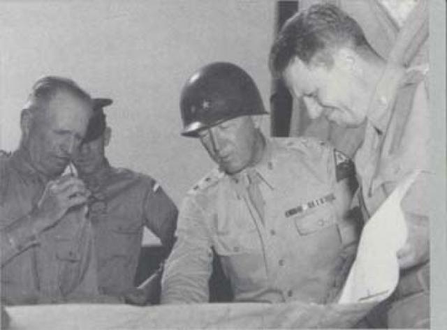 Patton studies map