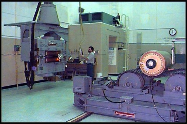 US Army Photo.  State-of-the-art X-ray facility at LEMC.