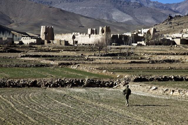 Patrolling Afghanistan