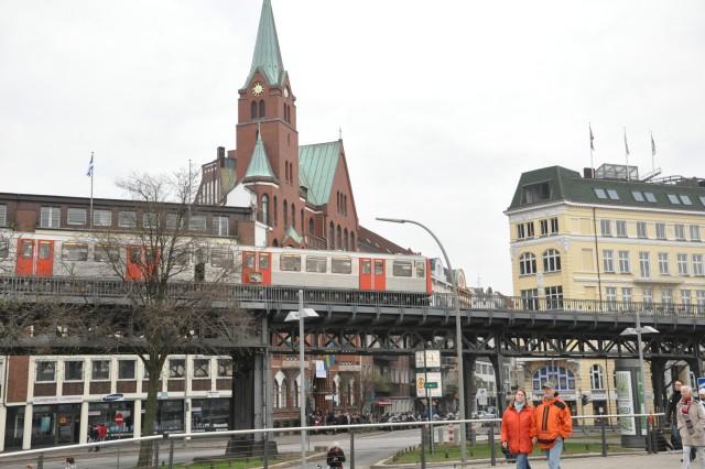 Hot times in Hamburg