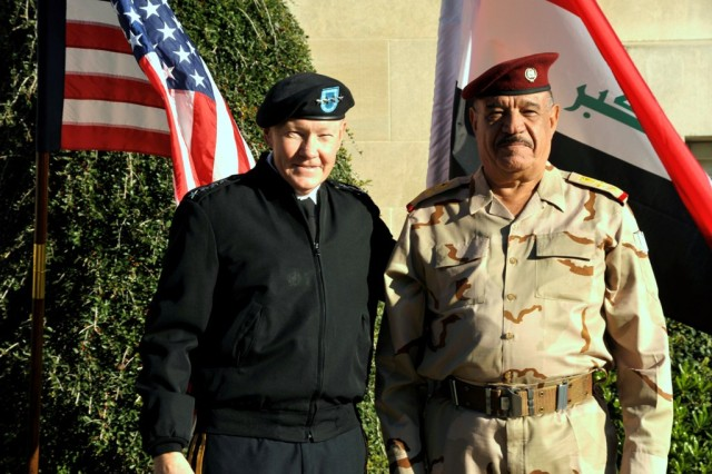 Iraqi General visits TRADOC