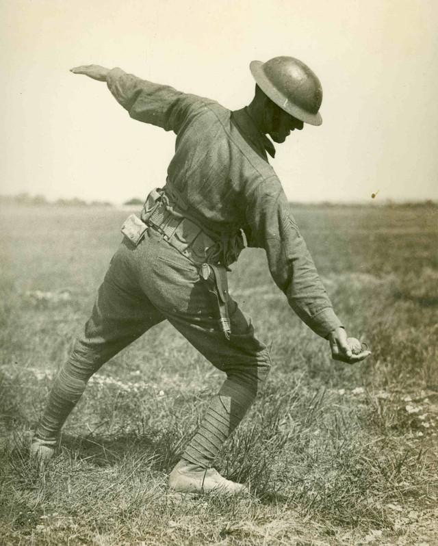 Grenade training