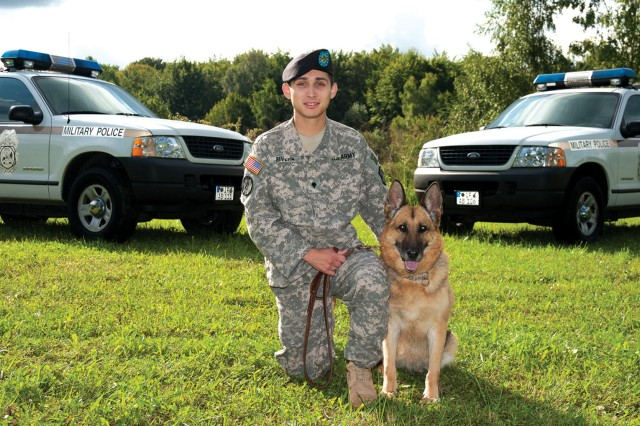 554th MP Co. war dog returns home to rest