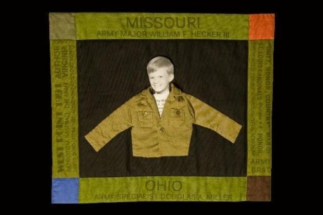 Maj. William Hecker's quilt square