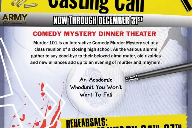 DFMWR looking for comedic actors
