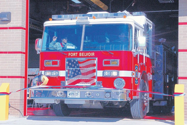 New emergency services center opens on Fort Belvoir North Area