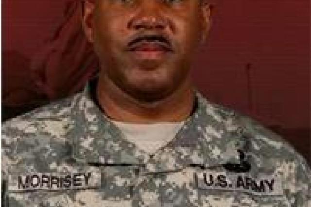 Command Sgt. Maj. Dwight Morrisey
