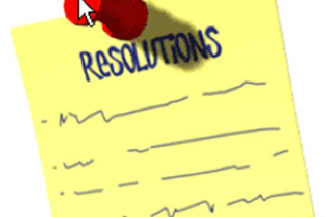 Sharing my resolutions for the new year