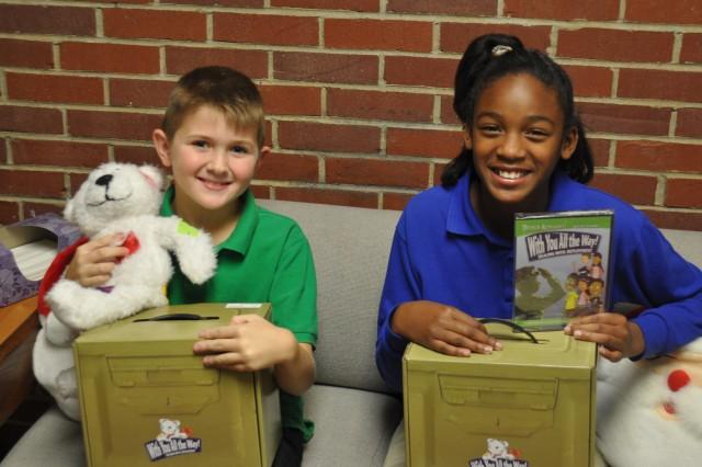 Kits help children through deployment: Barkley students receive treats