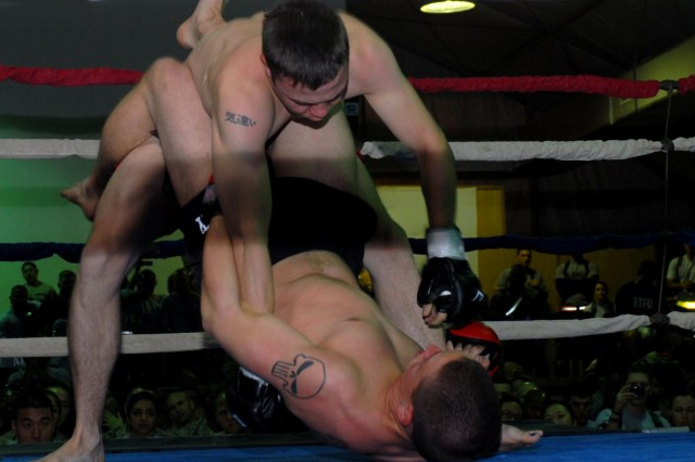 Pacesetters prevail at Camp Adder Fight Night