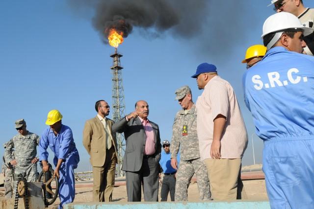 Major Iraqi oil refinery demonstrates self-sufficiency
