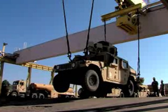 In one minute, see the complete HMMWV Reset process at the Red River Army Depot in Texarkana, Texas.