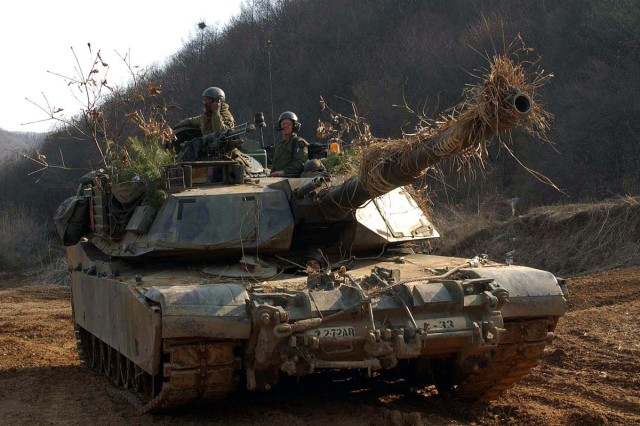 Units of the 2nd Infantry Division will receive new M1A2 Abrams Tanks and M2A2 Bradley Fighting Vehicles from December of 2010 to May of 2011.