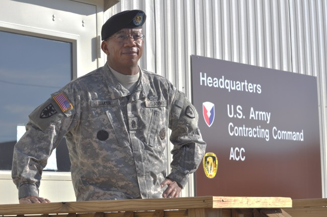 ACC CSM on the ground at Redstone Arsenal