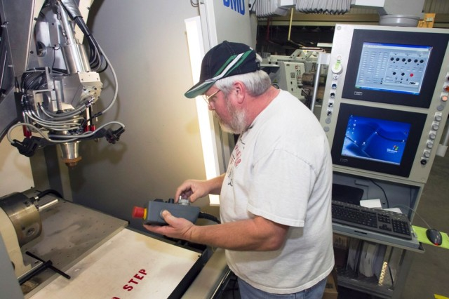 DEQ uses new machine to reclaim parts at ANAD