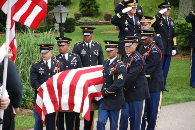 New York Military Forces Honor Guard in Action