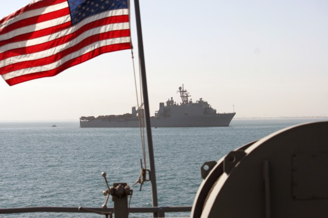 Joint efforts ensure USS Carter lands in time for Christmas