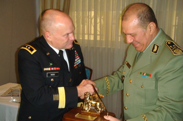 Maj. Gen. David R. Hogg visits Algeria, December 2010