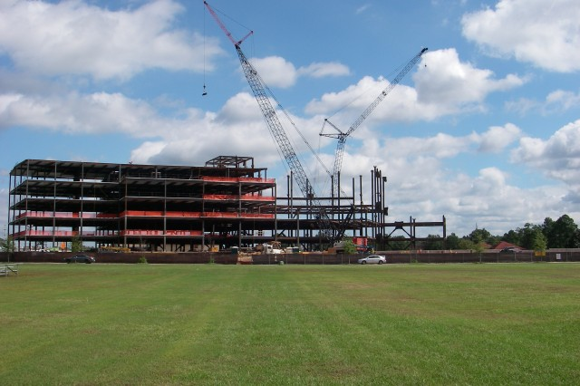 """U.S. Army Forces Command/U.S. Army Reserve Command Combined Headquarters Construction Project Aca,!"""" In Review"""