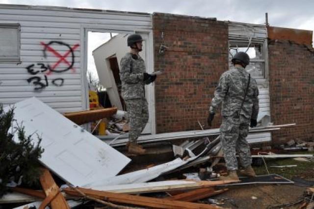 MPs Assess Tornado Damages
