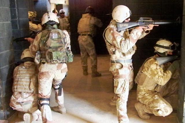 IA commando training
