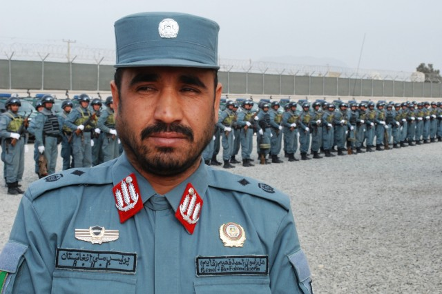 Brig. Gen. Ahmed Fahim Qayem, commander of the Central Unit, Police Zone 101, sets an example of unit ownership that few in Afghanistan have seen the likes of.