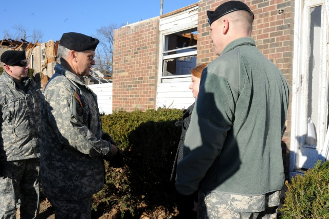 Families prove resilient in aftermath of tornado at Ft. Leonard Wood
