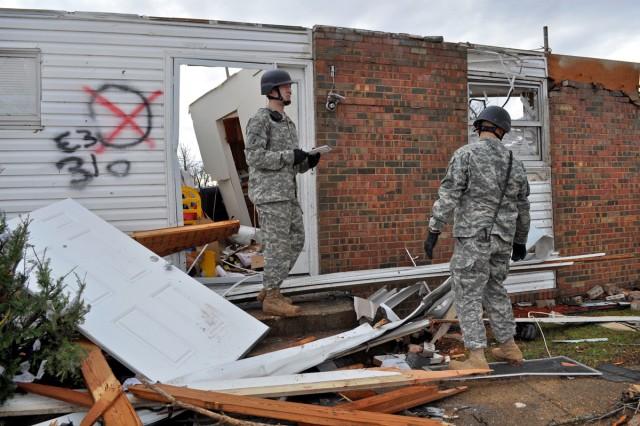 SRT assesses tornado damage