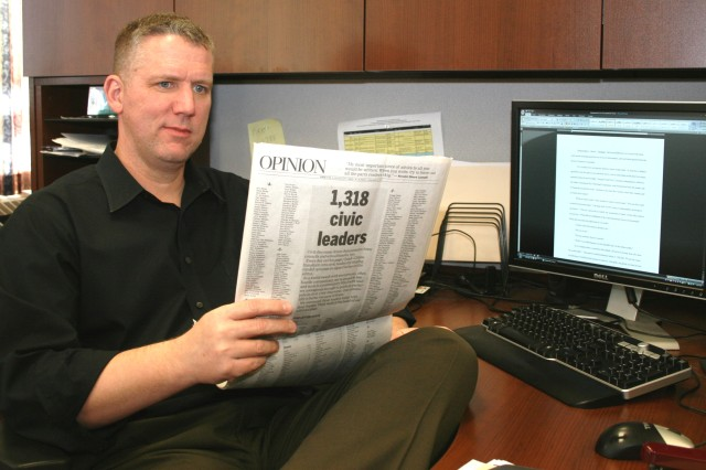 ASC employee named QC Times Letter Writer of 2010