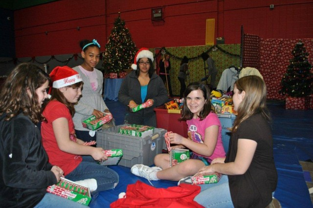 Holiday Generosity Provides For Fort Drum Families