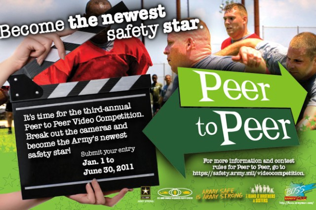 3rd Annual Peer to Peer Safety Video Competition