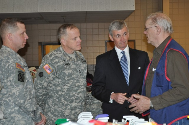 Secretary of the Army views Fort Leonard Wood tornado damages firsthand