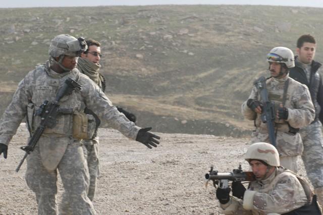 Coaching IA soldier