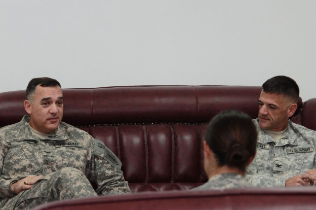 Calvert brothers bond over history while serving in Iraq