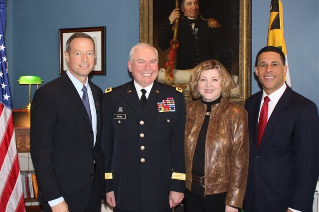 Governor Promotes James A. Adkins to Major General