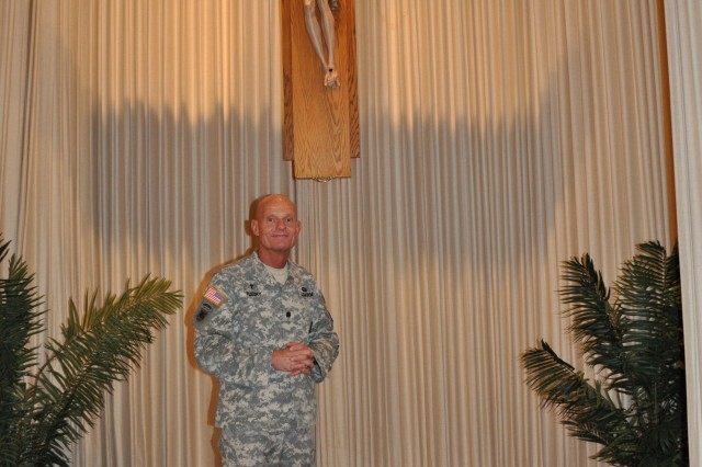 Lt. Col. Joseph Fleury, a Catholic priest, is the new installation chaplain at Fort Irwin and the National