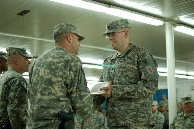 Deployed troops graduate from special NCO professional development course