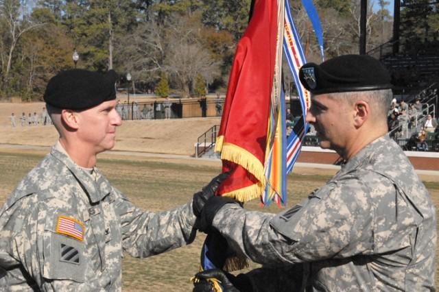 Outgoing commander Col. Jones