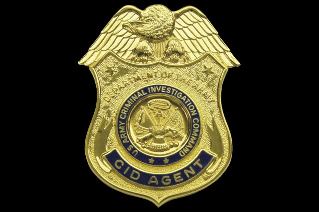 U.S. Army Criminal Investigation Command Special Agent Badge