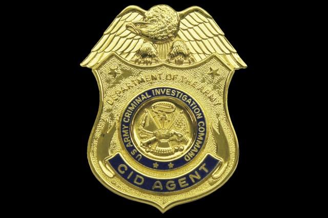 CID Agent Badge