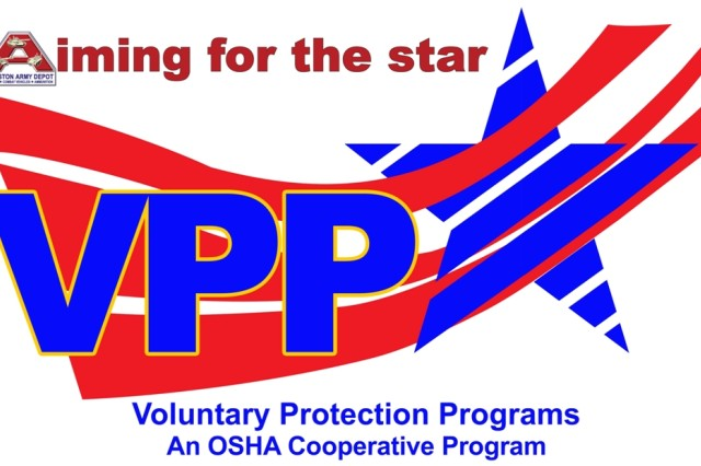 Anniston Army Depot is aiming for the Voluntary Protection Programs star.