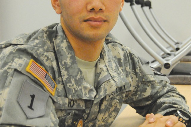 Sgt. Thang Vo is a new Sergeant Audie Murphy Club member who joined the Army as a way to thank the United States for granting his family asylum.