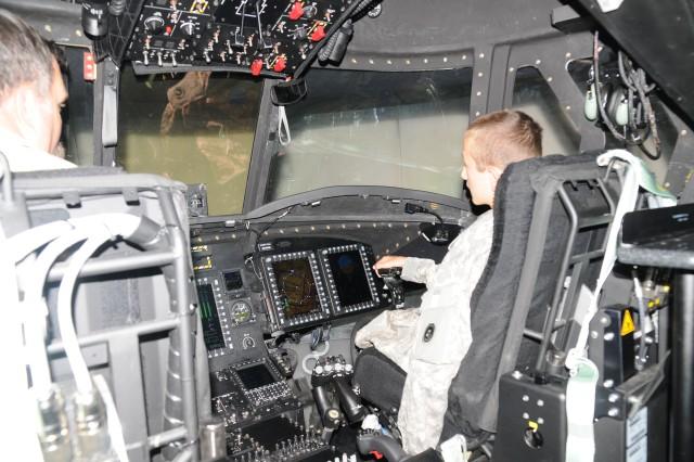 AH-64 Apache simulator provides valuable training to pilots